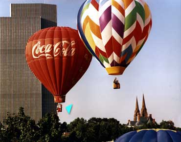 Coca Cola Hot Air Balloon